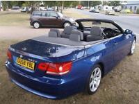 2008 BMW 3 SERIES 320D SE 2DR 2 DOOR CONVERTIBLE