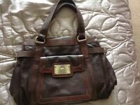 Brand new in dustbag full leather designer handbag Tommy and Kate limited edition