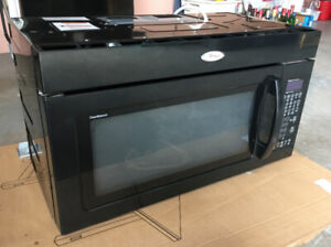 Whirlpool Over The Range Microwave Black in great condition