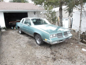 1982 oldsmobile cutlass calais project for sale/trade