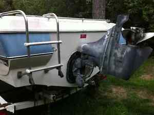 Ezy loader Boat trailer for Sale comes with 17.5 ft Larson Kawartha Lakes Peterborough Area image 4