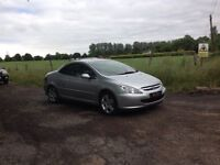 24/7 Trade sales NI Trade Prices for the public 2005 Peugeot 307 2.0 CC Convertible Silver