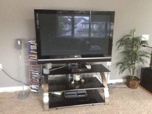 Plasma tv and stand