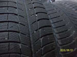 4 -  MICHELIN X-ICE X13 WINTER TIRES