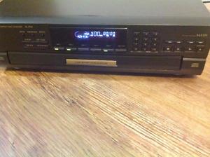 Technics 5 Disc player