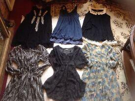 Joblot bundles ladies clothes size: 10/12 used V. Good condition 18 items £18