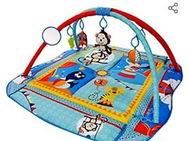 Ladida Large 110 x 110cm Baby Activity Playmat