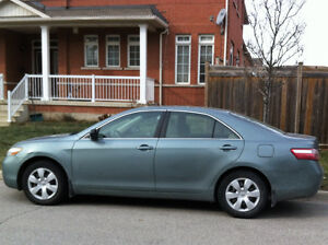 2007 Toyota Camry, very clean and Excellent condition.