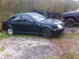 2001 jetta tdi for parts or part out