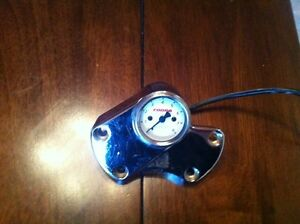 Harley handle bar clamp tach combo REDUCED PRICE