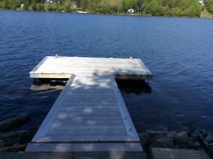 Floating Dock and Walkway Ramp