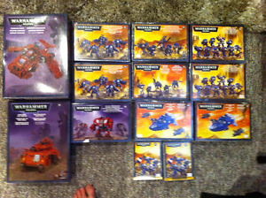 A lot of brand new warhammer 40k units and vihicles for sale!!!