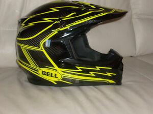 REDUCED  Bell motocross helmet