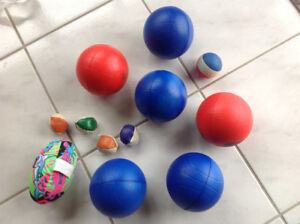 BALLS- brand NEW- bought to take to Cuba, but hurt back-not goin