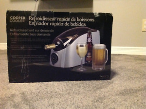 Cooper cooler rapid beverage chiller