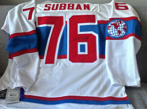 PK SUBBAN AUTOGRAPHED SWEATER