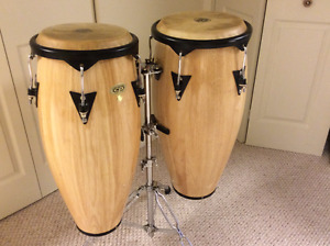 Congas avec stand