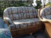 Conservatory settee and one chair