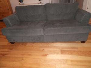 Microsuede Sofa