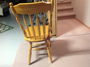 4 Maple Kitchen Chairs