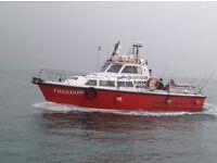 Aquastar 33 Charter Boat