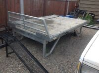 Stf sled atv deck long box extendable sides
