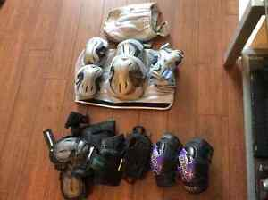 Women's and men's rollerblades