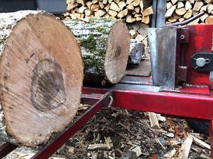 Fendeuse à bois (buches)