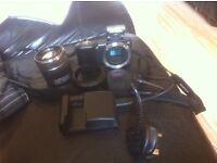 Sony nex3 with sel1855 flash digital camera bundle