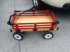 Wooden wagon with sides for sale