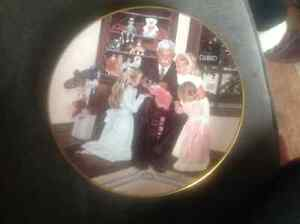 Limited edition Set of 3 World of dolls plates