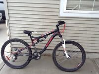 Blade compression full suspension mountain bike
