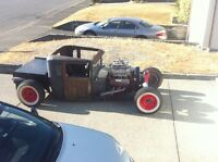 Traditional 28 rat rod