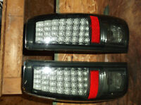 Smoked LED tail lights for 2003-07 GM truck