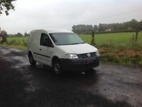 24/7 Trade sales NI Trade Prices for the public 2008 Volkswagen Caddy 2.0 SDI White NO VAT