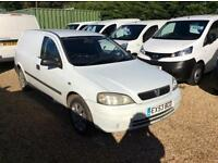 VAUXHALL ASTRA ENVOY 1.7cdti, White, Manual, Diesel, 2004