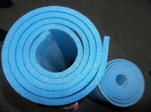 TWO MATS, THICK ONE IS OK FOR CAMPING MATTRESS   BOTH $8