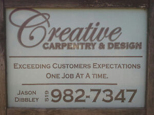 Creative Carpentry for all your renovation needs Windsor Region Ontario image 1