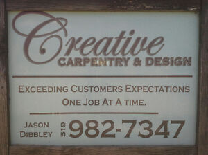 Creative Carpentry & design Windsor Region Ontario image 1