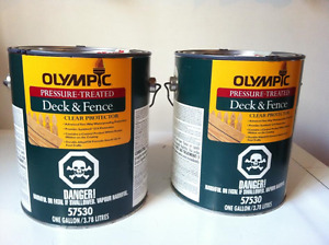 Olympic Clear wood protector