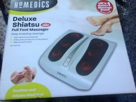 Delux shiatsu foot massager