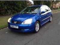 2005 Honda Civic cdti blue
