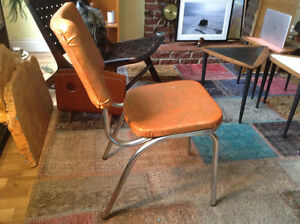 Retro/vintage chrome chair - add a flair to your space!