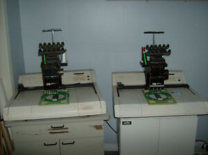 EMBROIDERY MACHINES - will train - best offer