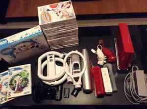 Wii game system with lots of extras!!!