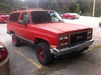 1900 GMC Jimmy Fullsize TRADE or cash