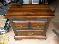 Wood end table or night stand