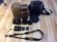 for sale nikon camera with lens and kit