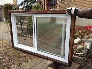 Newer 50x35 inch vinyl window