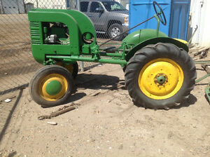 Rare John Deere model L two cylinder tractor